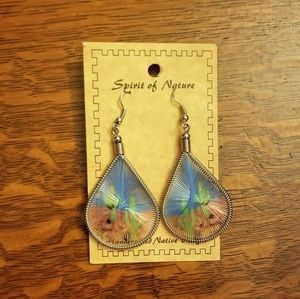 Woven Cacti Earrings NWT